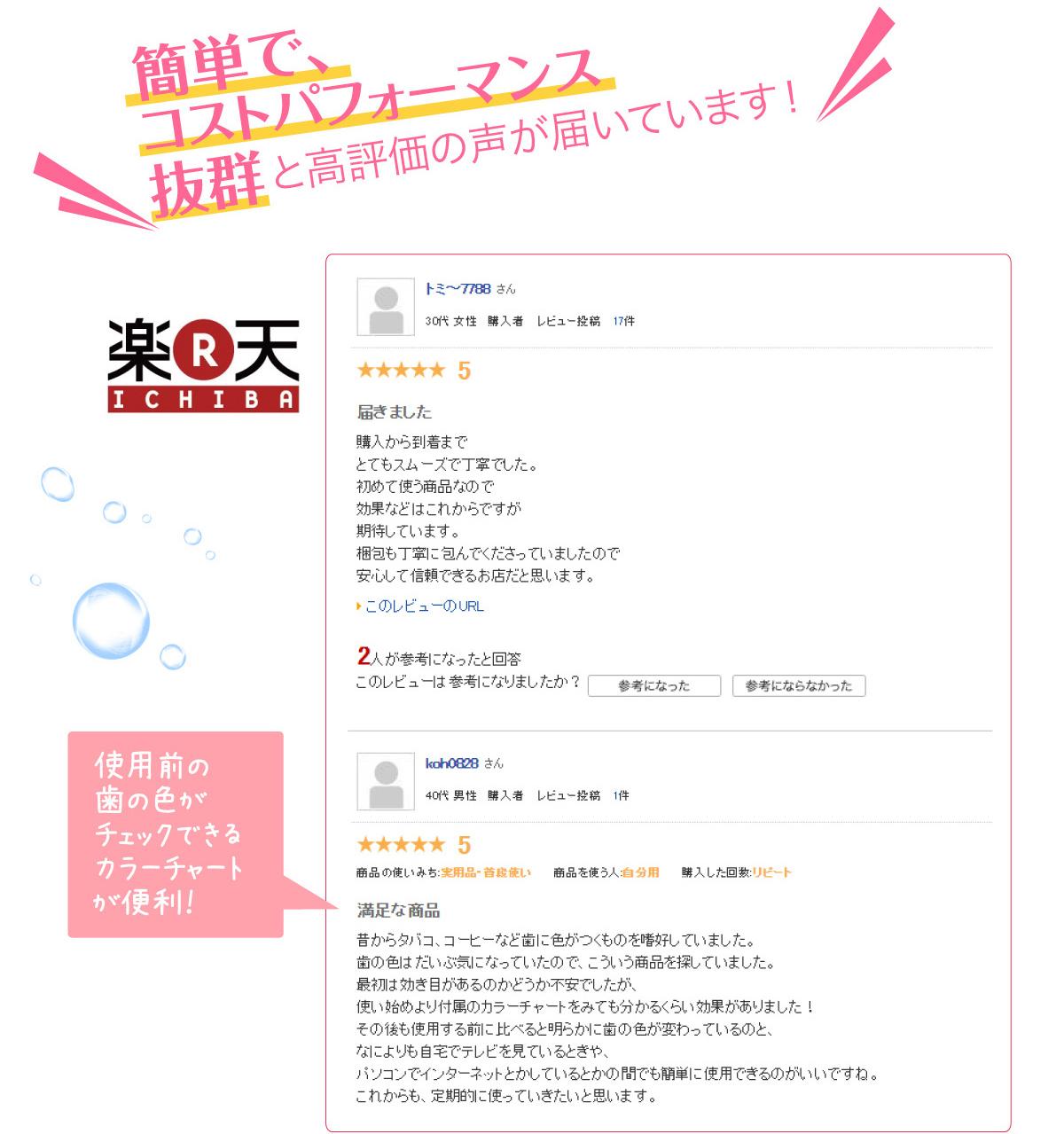 簡単で、コストパフォーマンス抜群と高評価の声が届いています! amazon.co.jp